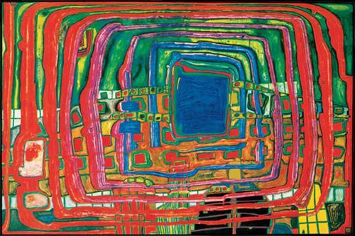 433 The I Still Do Not Know - Friedensreich Hundertwasser