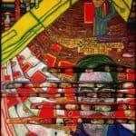 622 Mourning Schiele – Friedensreich Hundertwasser