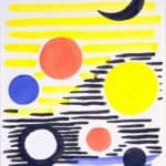 7 Circles Abstract  – Alexander Calder