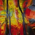 Abstraktes Bild(Abstract Painting) (1976)