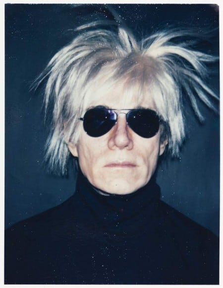 Andy Warhol - Self-Portrait With Fright Wig-1986