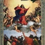 """""""Assumption of the Virgin"""" 1516-1518. 690×360 cm"""