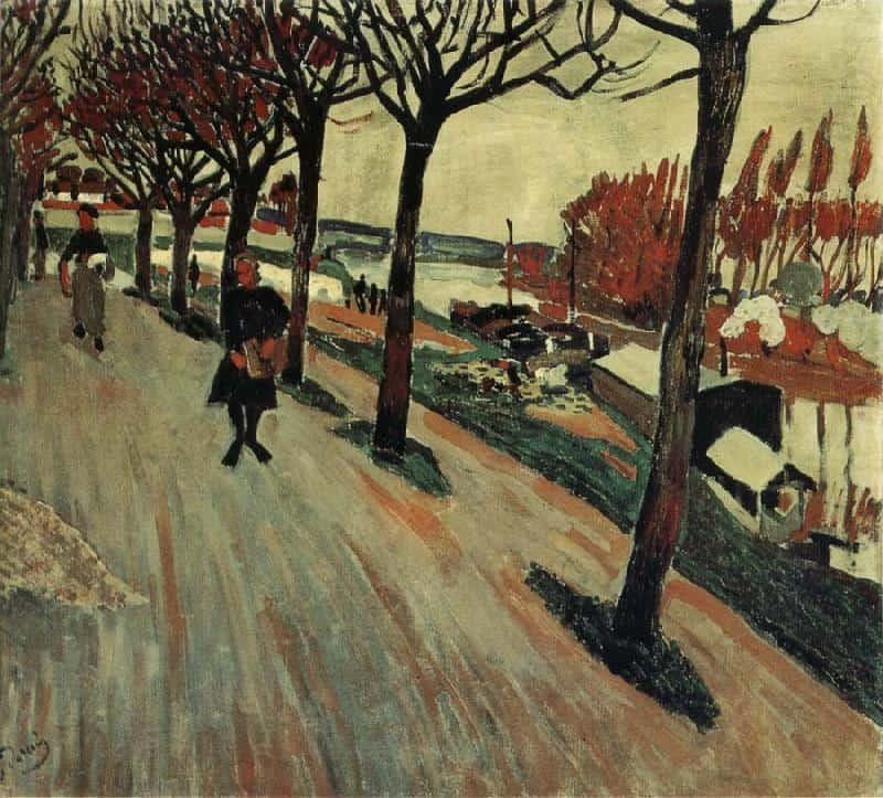 Banks of Seine - Andre Derain