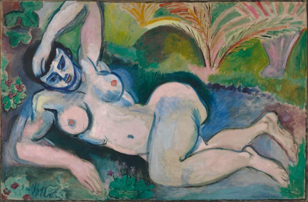 Blue Nude (Souvenir de Biskra)