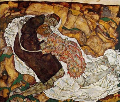 Death and the Maiden (1914–15)