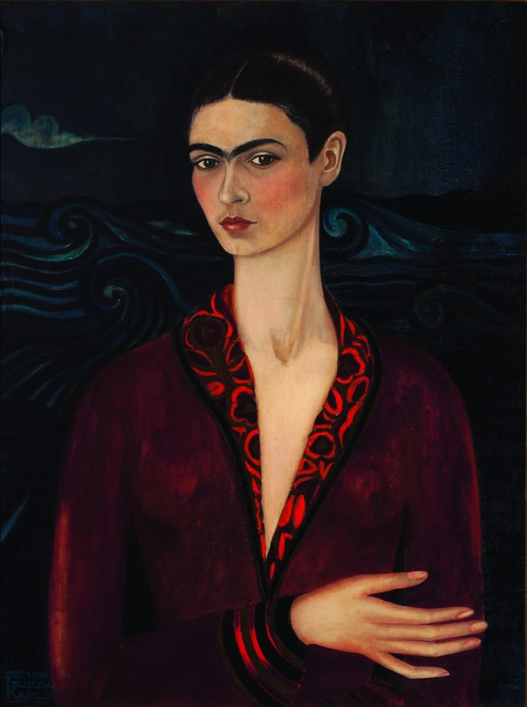 FRIDA KAHLO (1907-1954) 'Self Portrait in a Velvet Dress', 1926 (oil on canvas)