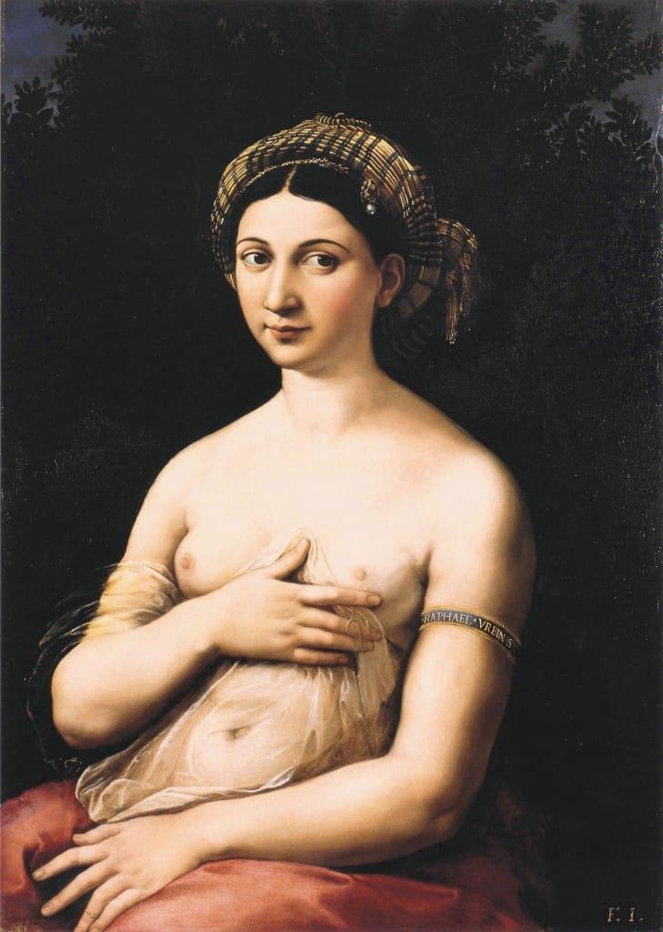 La Fornarina and La donna velata