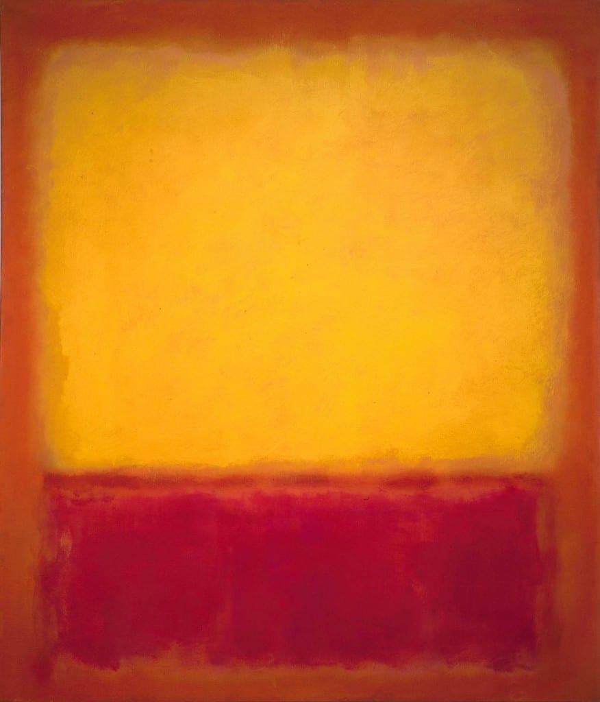 """Mark Rothko's """"Yellow Over Purple"""" (1956)"""