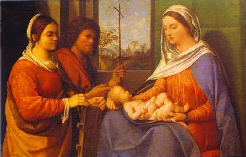 Sacred Conversation - Giorgione
