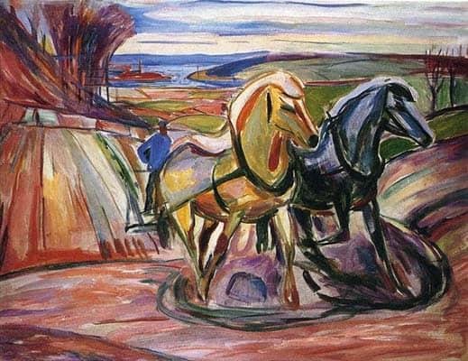 Spring Ploughing (1918)