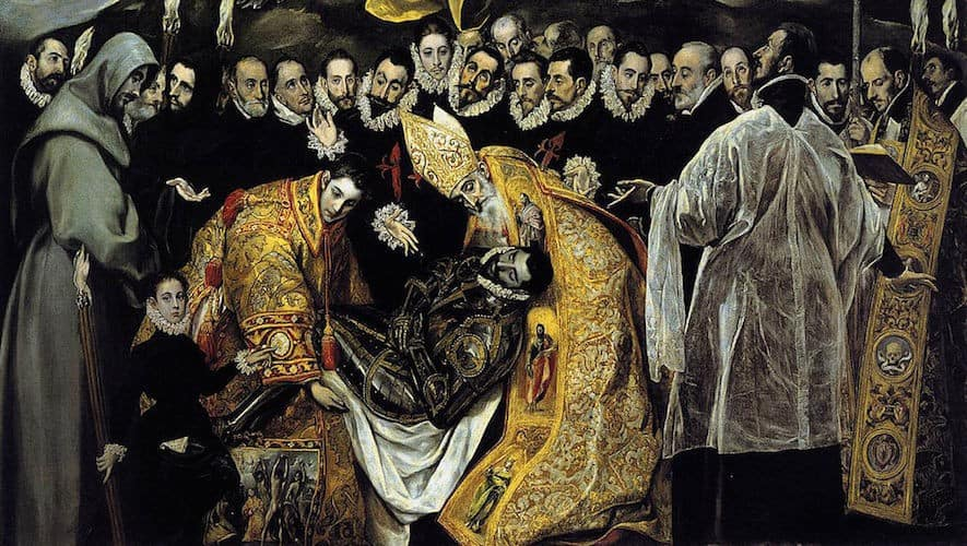 The Burial of the Count de Orgaz