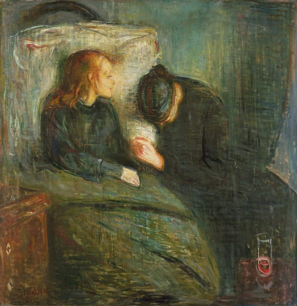 The Sick Child (1885-86, 1907)