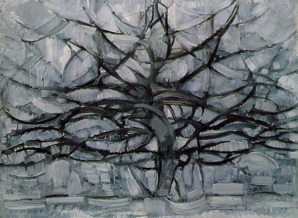Trees by Piet Mondrian
