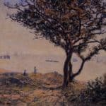 A Cardiff Shipping Lane – Alfred Sisley