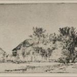 A Landscape of Irregular Form – Rembrandt