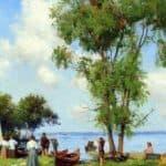 A Thousand Islands, St. Lawrence River – Robert Julian Onderdonk