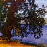 A Tree over Water in the Vicinity of Castel Gandolfo – Alexander Ivanov