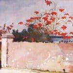 A wall, Nassau – Winslow Homer
