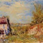 Abandoned House – Alfred Sisley