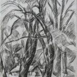 Abramtsevo. The trees. – Pyotr Konchalovsky