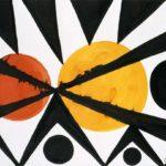 Across the Orange Moons – Alexander Calder