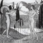 Adam and Eve – Mikhail Nesterov