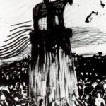 Agitate Crowd Surrounding a High Equestrian Monument – Umberto Boccioni