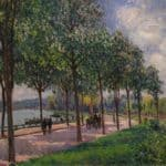Alley of Chestnut Trees – Alfred Sisley