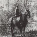 Amazon on a horseback – Vasily Polenov