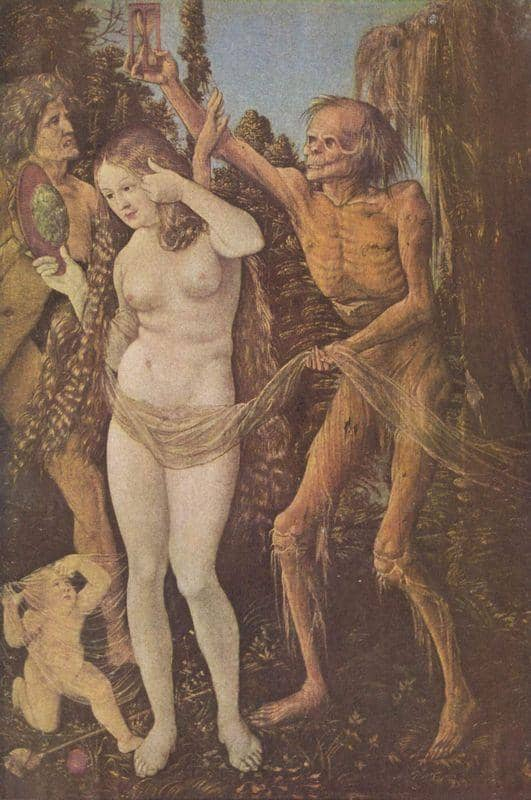 An Allegory of Death and Beauty - Hans Baldung