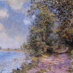 An August Afternoon near Veneux – Alfred Sisley