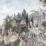 An Enchanted Garden – Wilhelm Kotarbinski