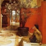 An Oleander – Sir Lawrence Alma-Tadema