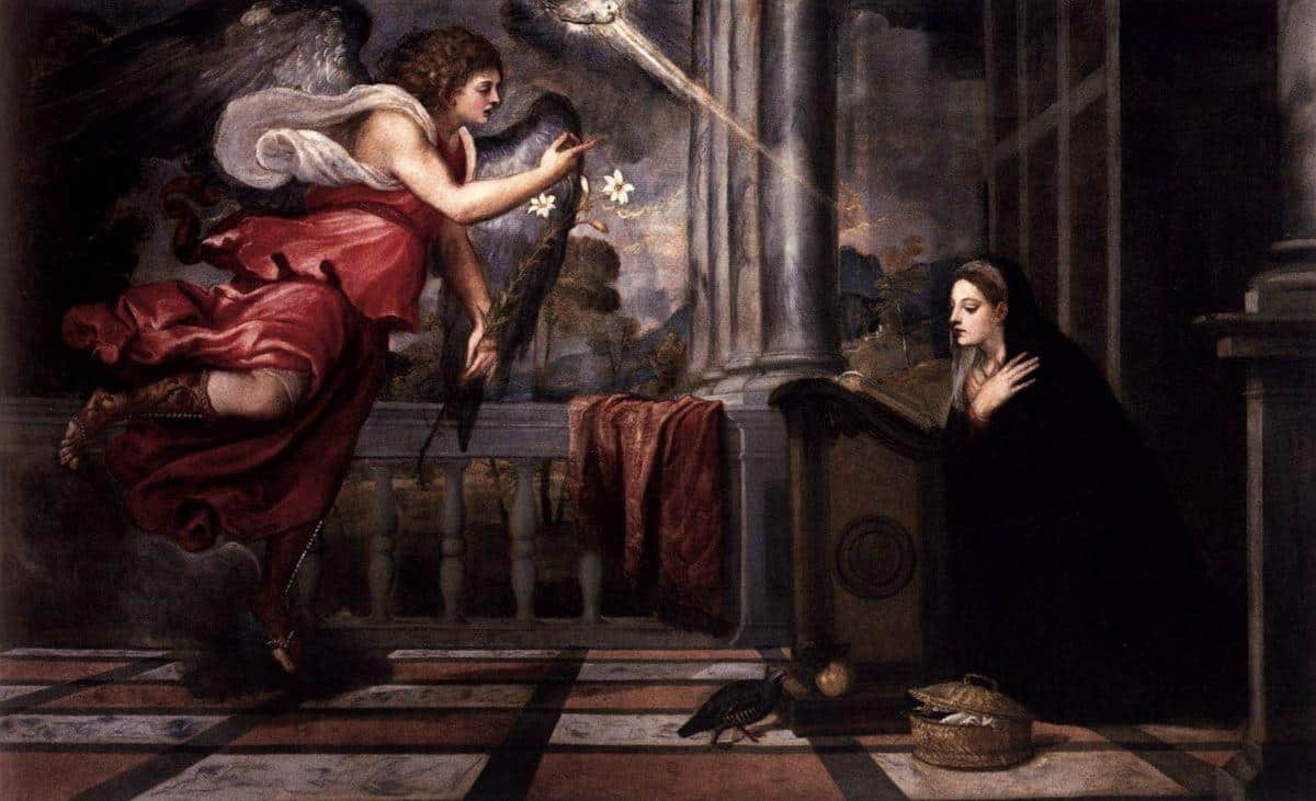 Annunciation - Carlo Crivelli