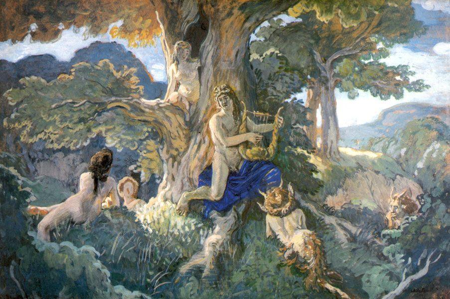 Apollo and Daphne - Alexandre Benois