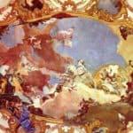 Apollo leads Frederick Barbarossa Beatrix of Burgundy – Giovanni Battista Tiepolo
