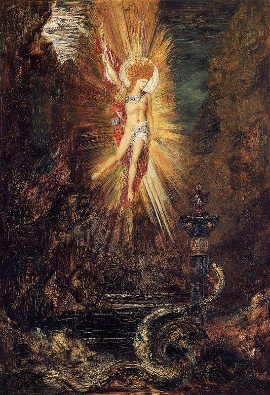 Apollo Vanquishing The Serpent Python - Gustave Moreau