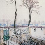 Approach to the Railway Station – Alfred Sisley
