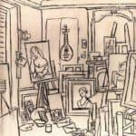 Artist's studio on street La Boetie – Pablo Picasso