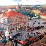 At the German Quarter – Alexandre Benois