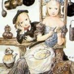 At the Kitchen – Tsuguharu Foujita