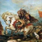 Attila the Hun  – Eugene Delacroix