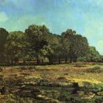 Avenue of Chestnut Trees near La Celle Saint Cloud – Alfred Sisley
