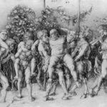 Bacchanal with Silenus – Albrecht Durer