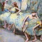 Ballet Dancers in the Wings – Edgar Degas