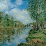 Banks of the Loing – Alfred Sisley