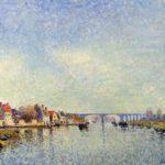 Banks of the Loing at Saint Mammes – Alfred Sisley