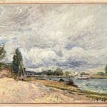 Banks of the Seine – Alfred Sisley