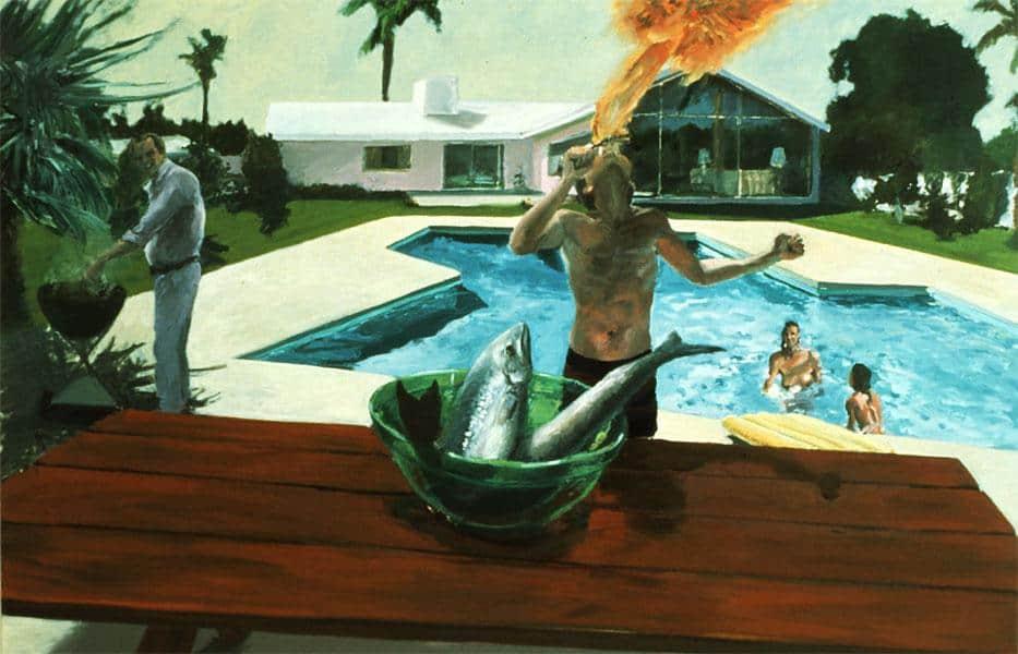 Barbecue - Eric Fischl