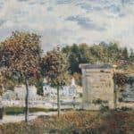 Bassin de Marly – Alfred Sisley